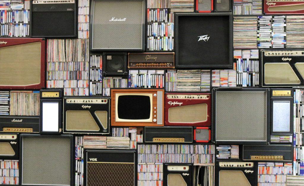 Guitar Amplifier Collage