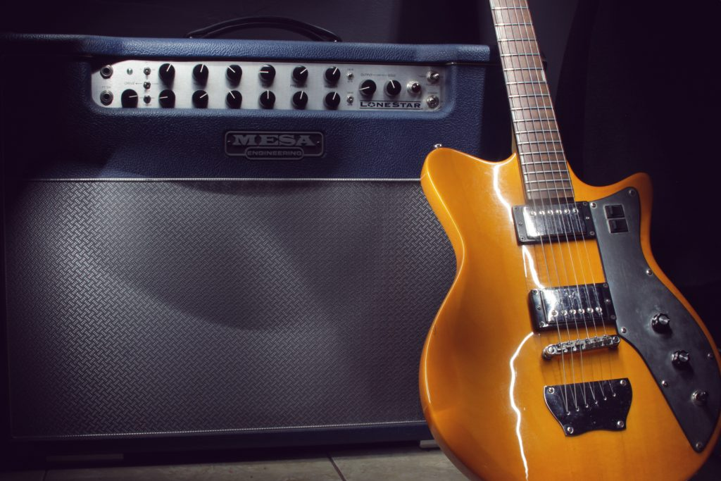 Guitar with Mesa Boogie Amplifier