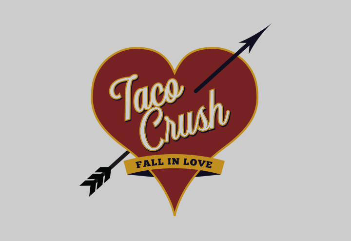 Taco Crush Logo Design by Troy Lawrence